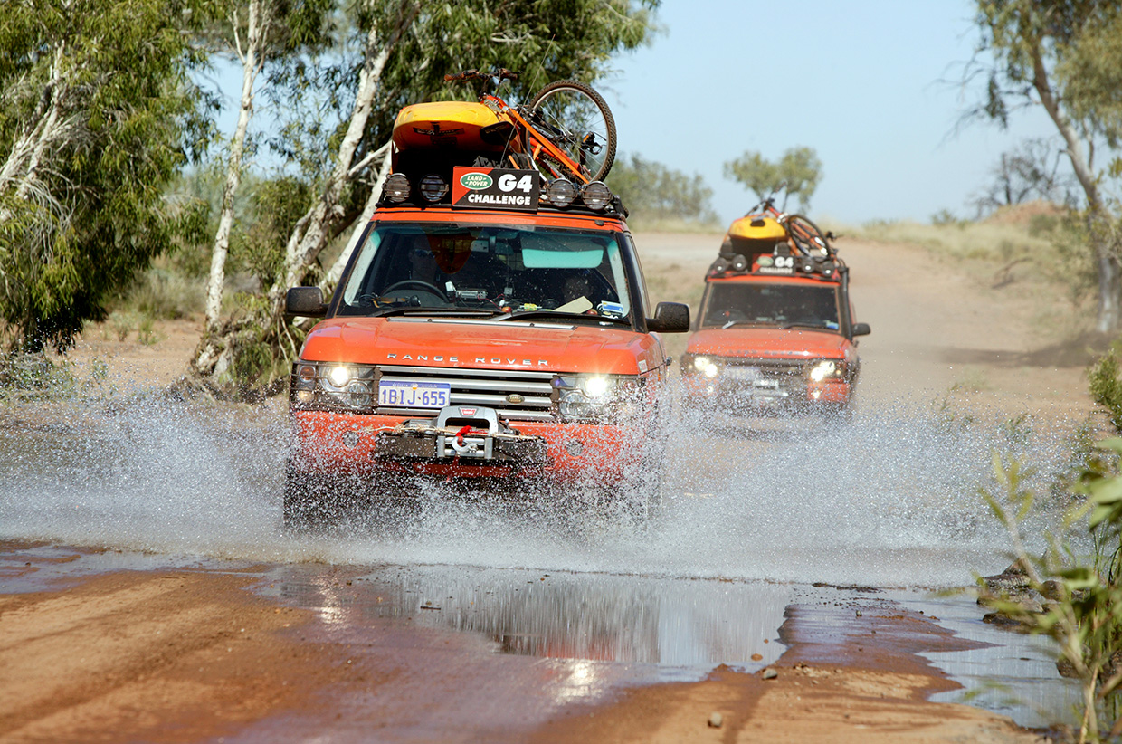 The Landrover G4 Challenge