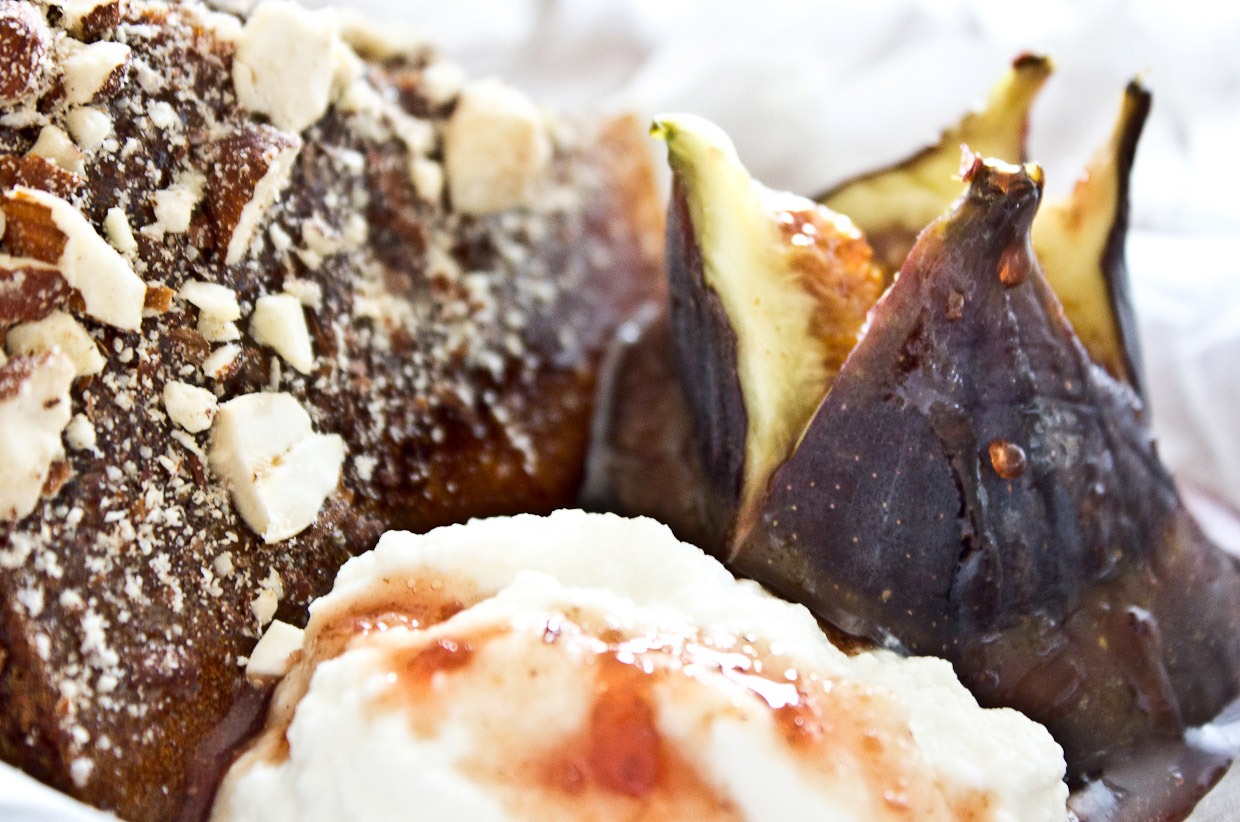 Spice, Sand and Stars - Fire roasted figs, goat labneh | Cooking Wild