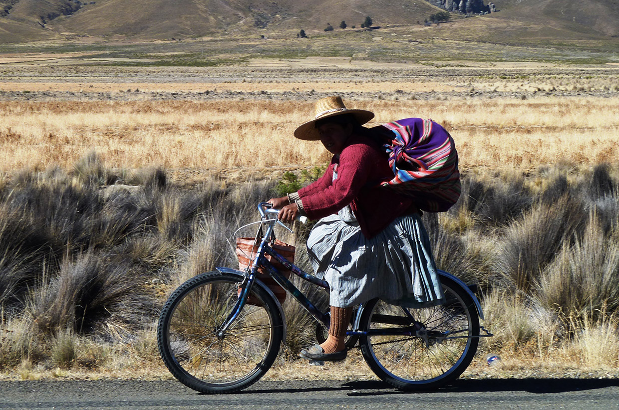cycling the andes