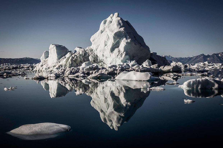 Iceberg in East Greenland