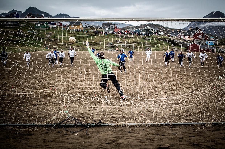 East Greenland Football match
