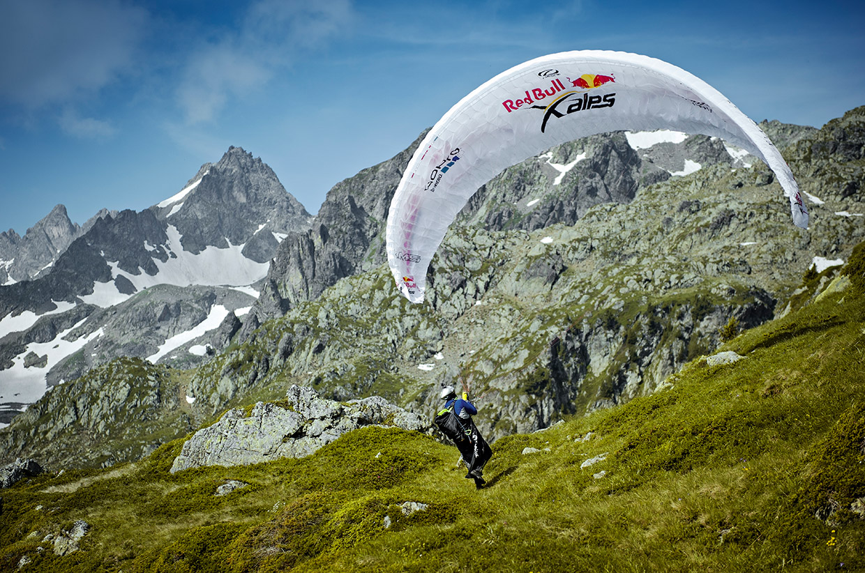 Red Bull X Alps Adventure Race Sidetracked