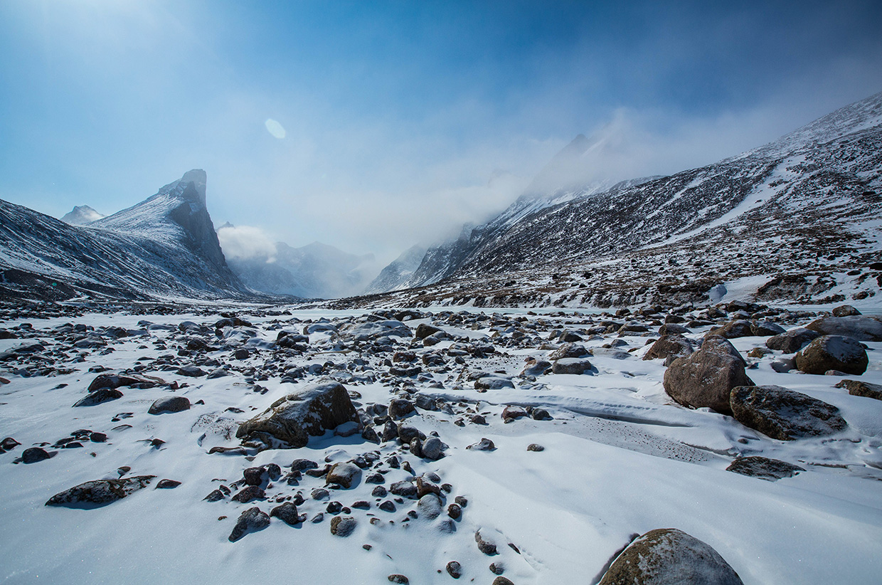 Mount Battle - Baffin Island