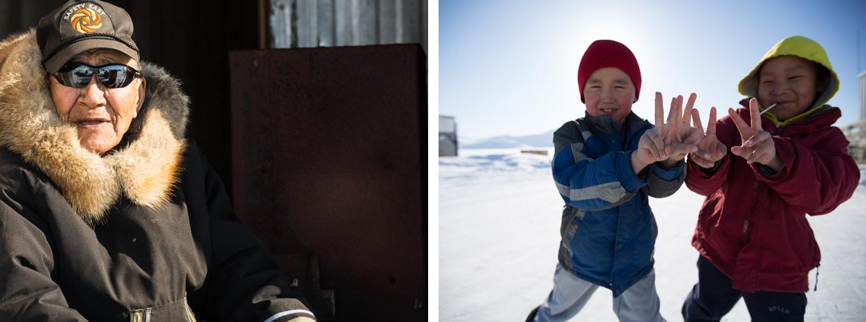 Inuit community - Baffin Island
