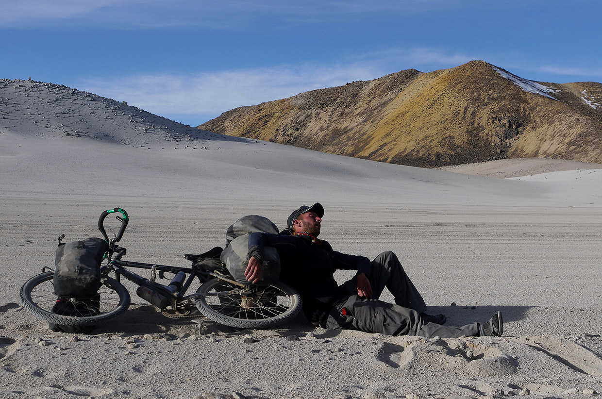 across the Andes by Bike