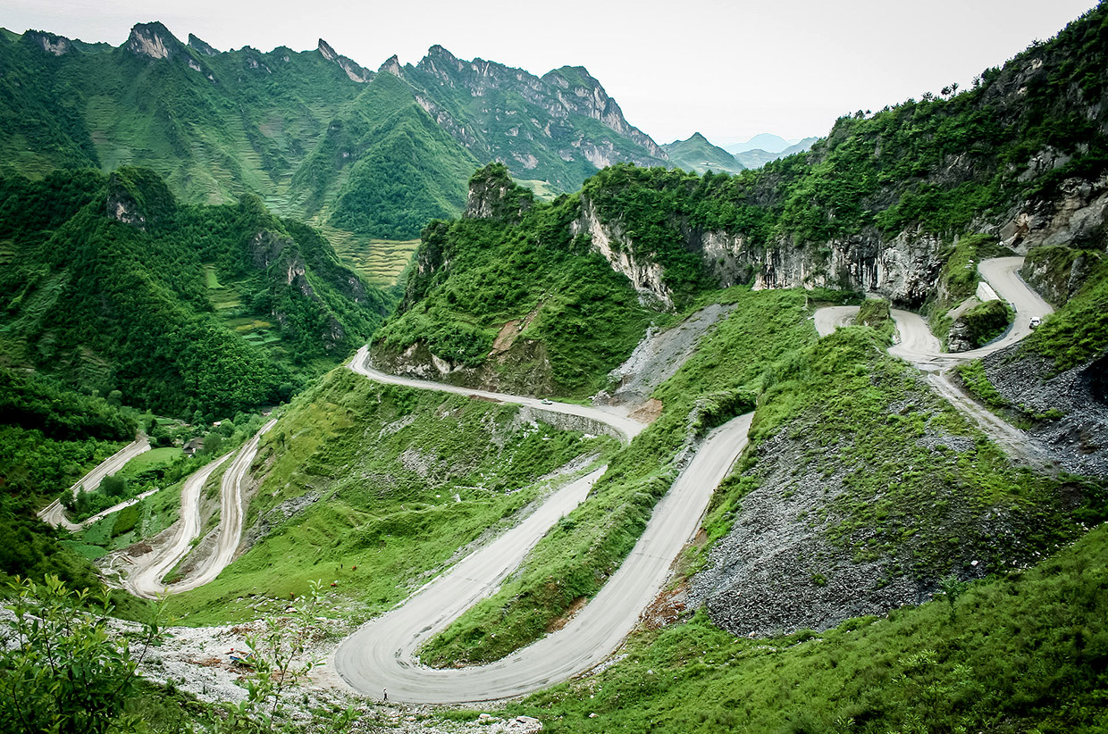 Cycle Touring in China - Photo by Ryan Davies