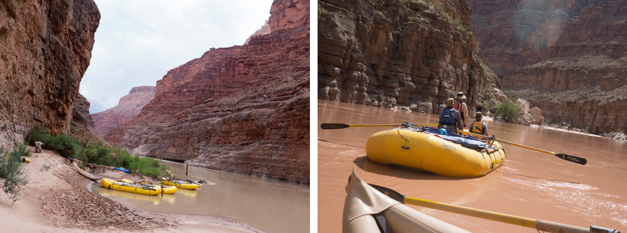 rafting the Colorado River - ©Maiamedia