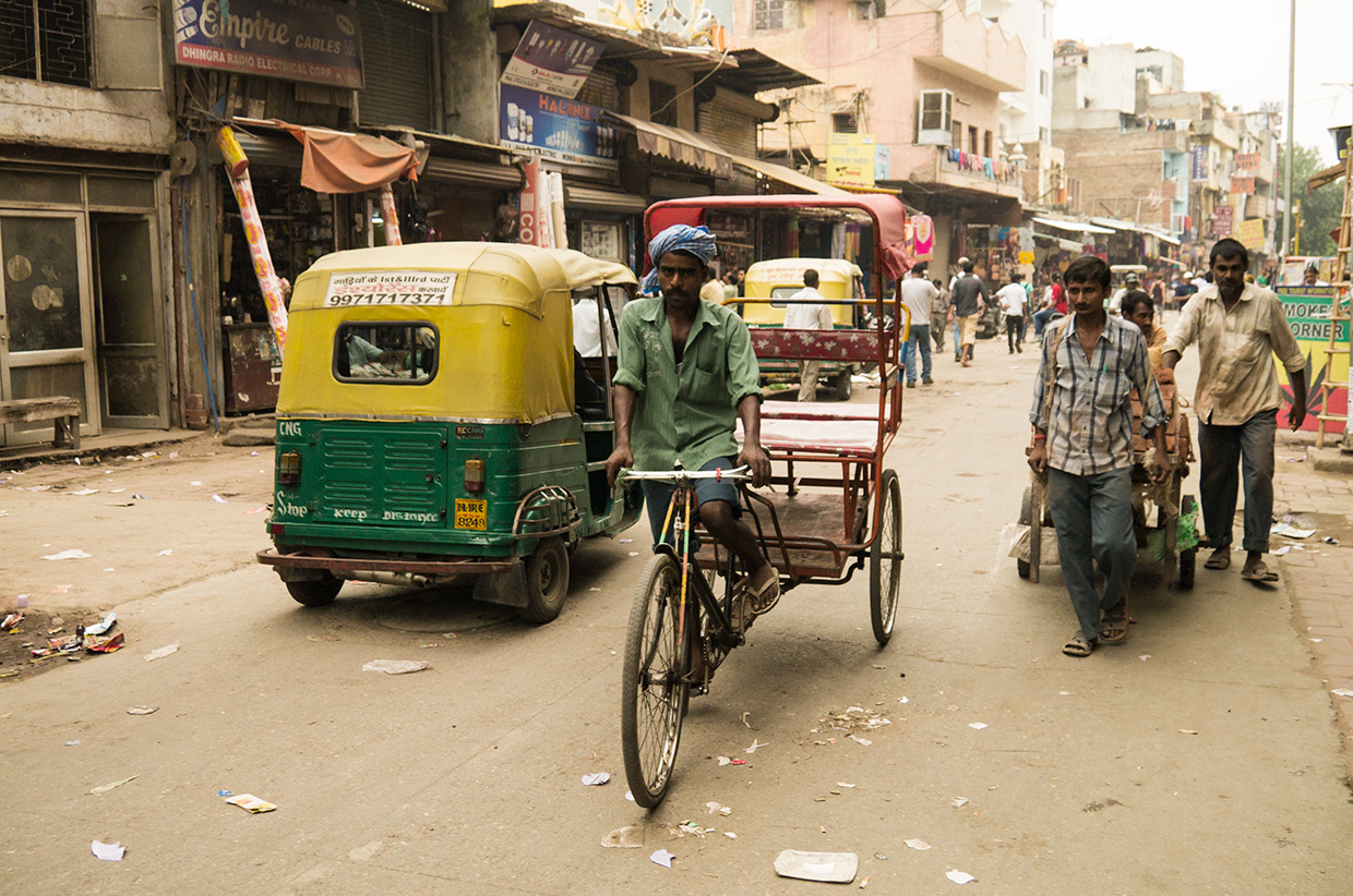 Cycle touring in India - Gerard Castellá