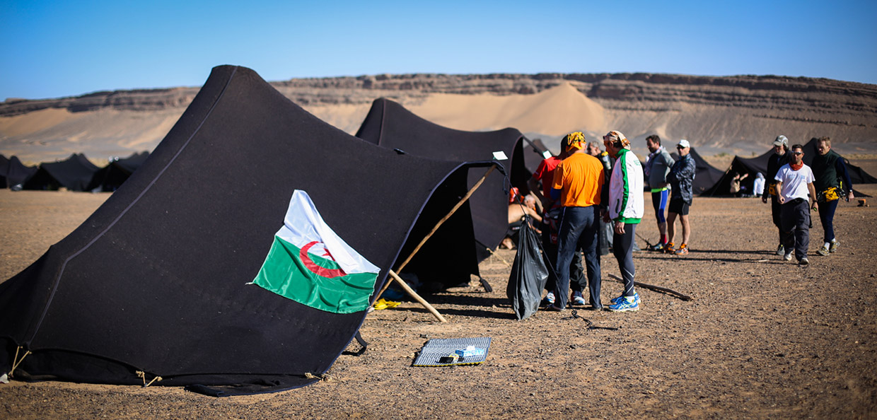 Marathon Des Sables - In Camp