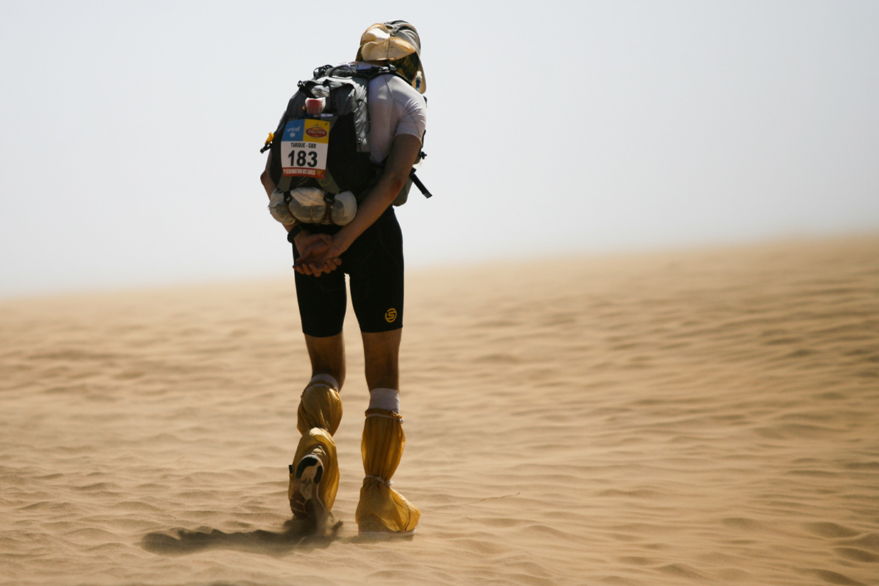 Marathon Des Sables - Photo by Mark Gillett