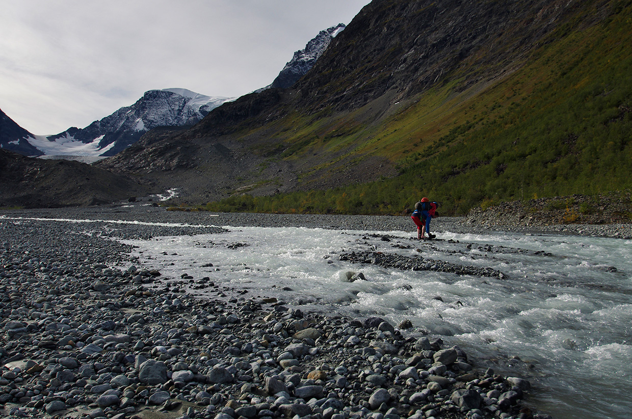 Lyngen Alps River Crossing