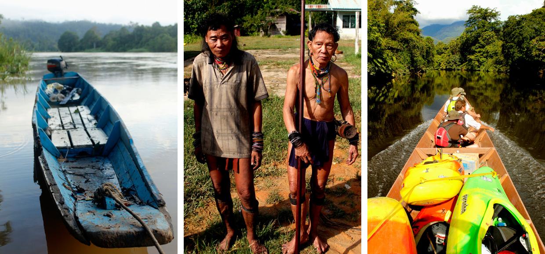Kayak Borneo expedition