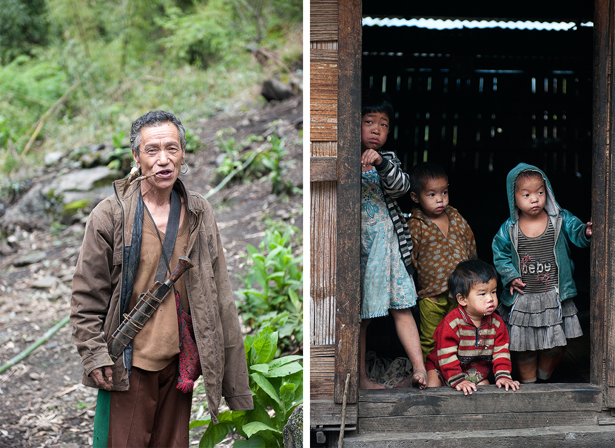 The Mishimi Tribe - The Eastern Himalayas - Photo © Amar Dev Singh