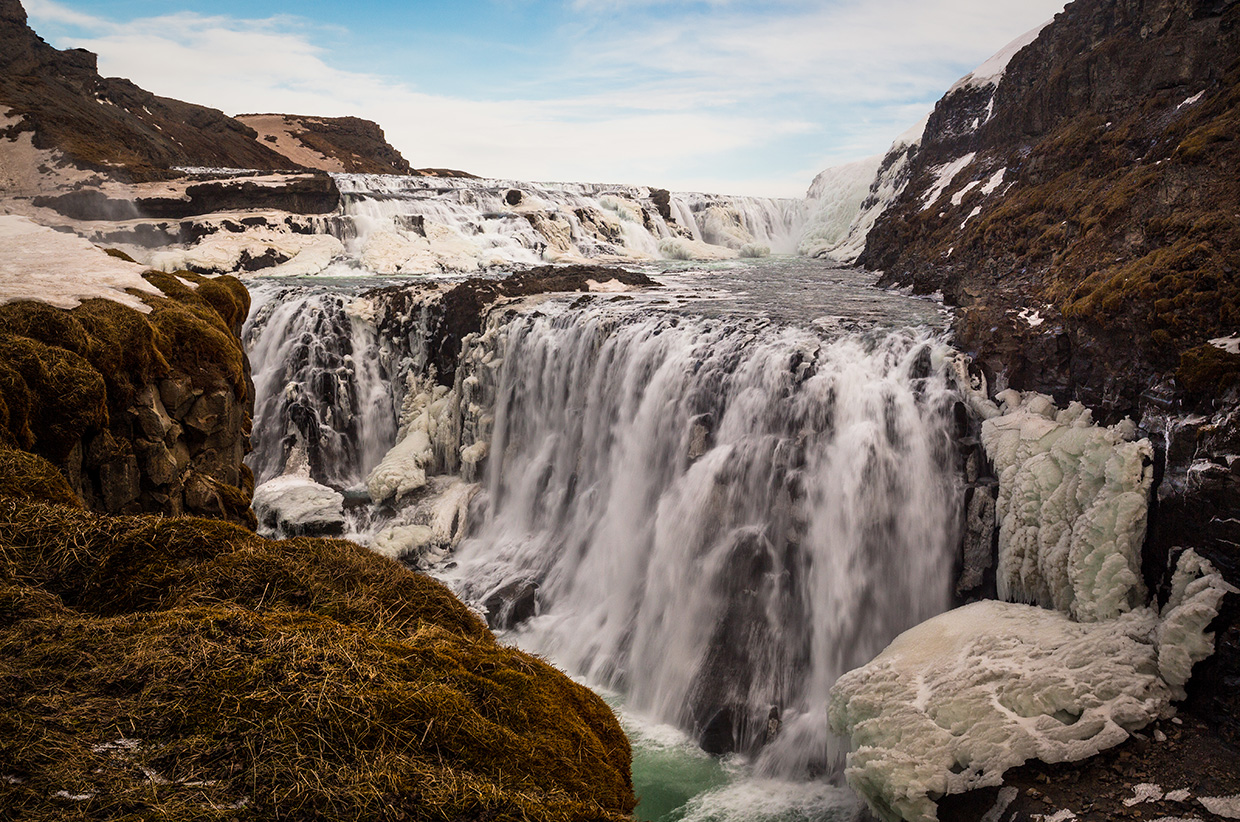 Iceland Waterfalls - Photo © Nadir Khan