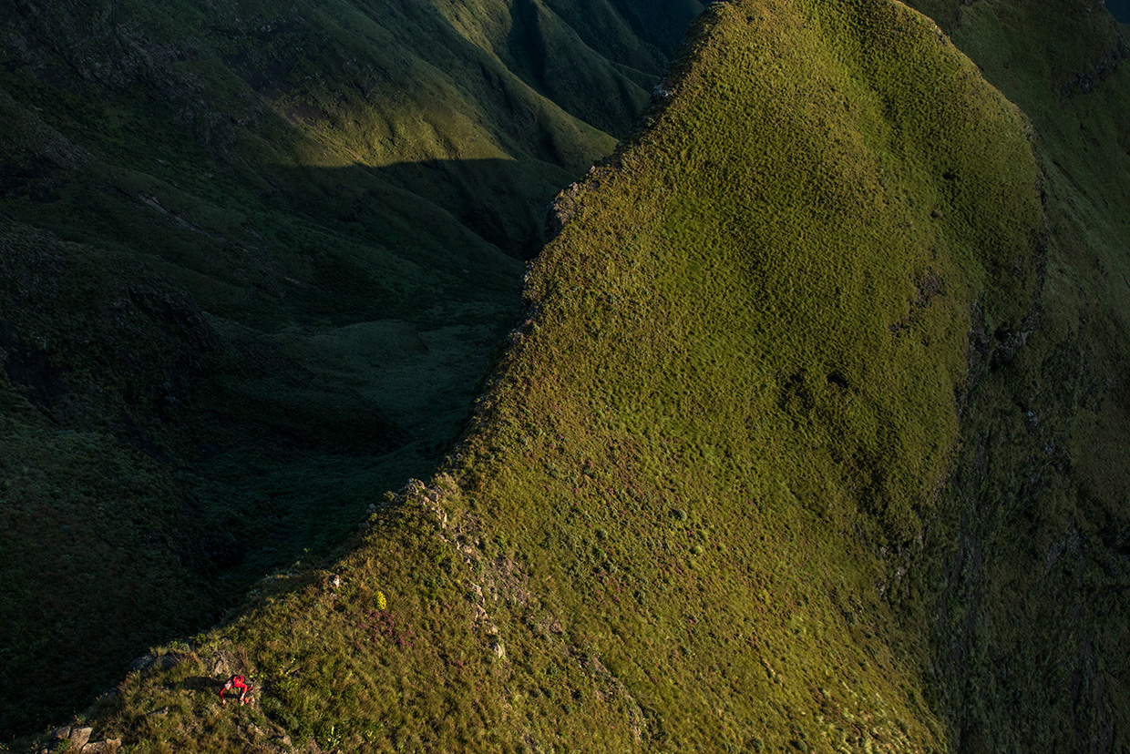 Ryan-Sandes-Drakensburg-Traverse - Photo by Red Bull
