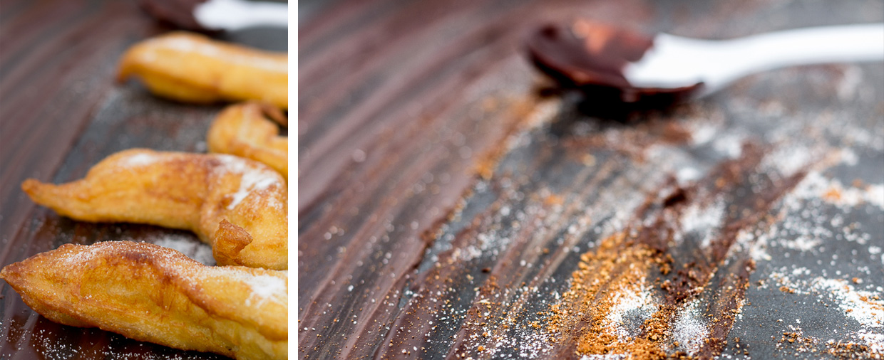 churros recipe - photo by Claire Burge
