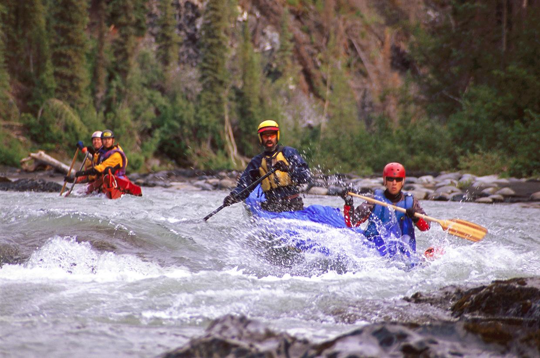 Rapids on the River Hess, Yukon