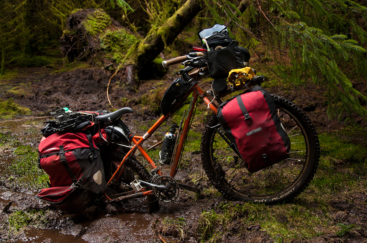 Cycle touring in Scotland - Will Copestake