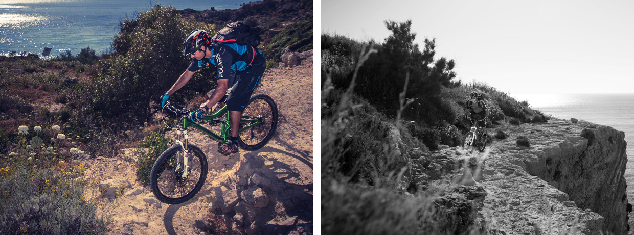 A Mountainbike Adventure: Malta. Photo by Chris Davies