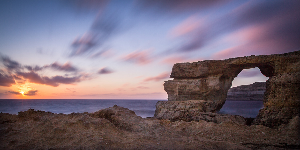 Sunset in Gozo, Malta. Photo by Chris Davies