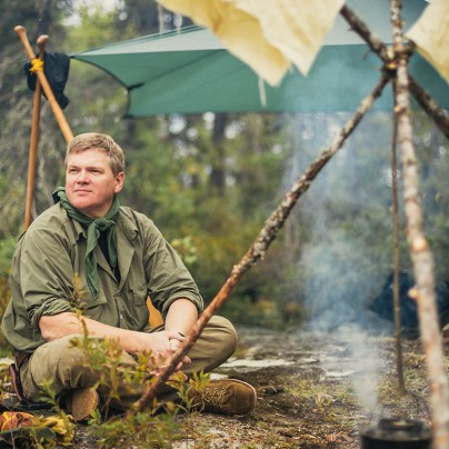 Ray Mears in Wabakimi Provincial Park
