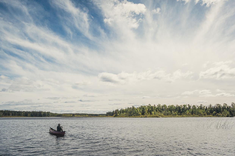 Canoeing in Wabakimi Provincial Park, Ontario