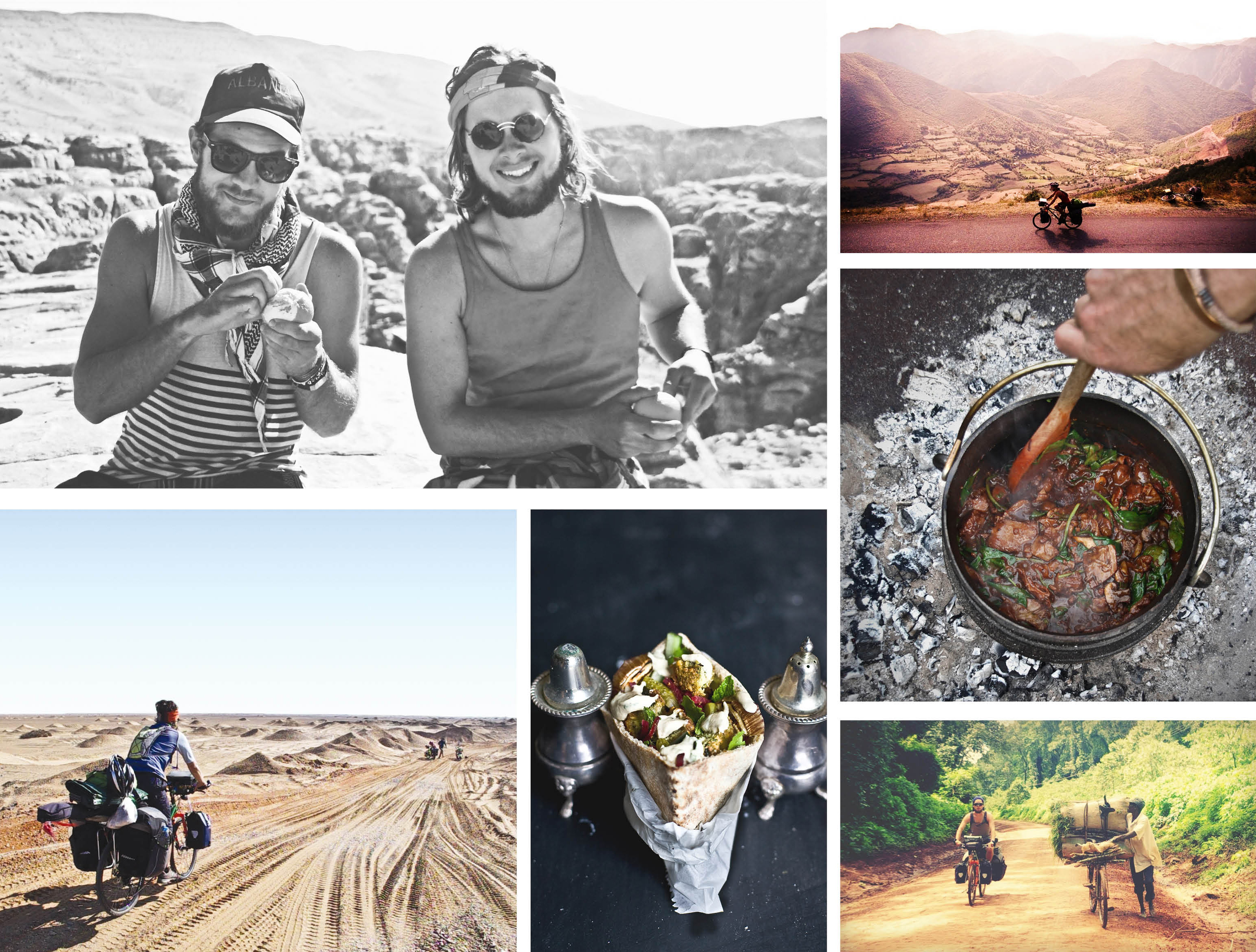 The Nomadic Kitchen - A Food journey by Tom Perkins