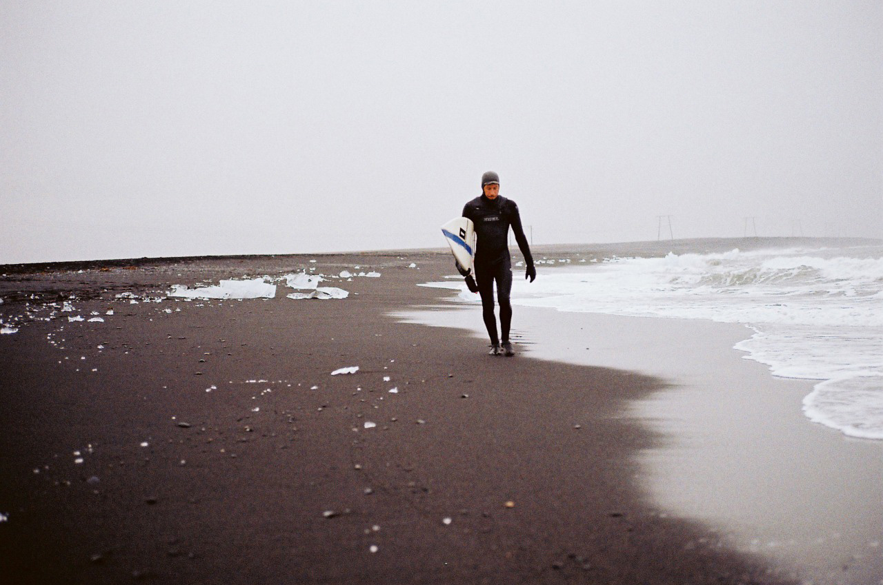 Cold Water Surfing, Iceland. Photo by James Bowden