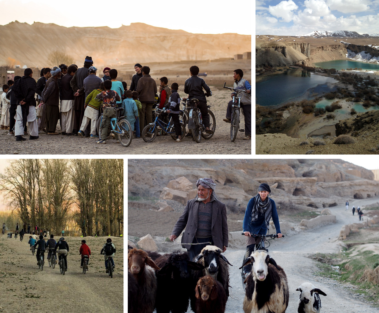 Working with the children of bamiyan