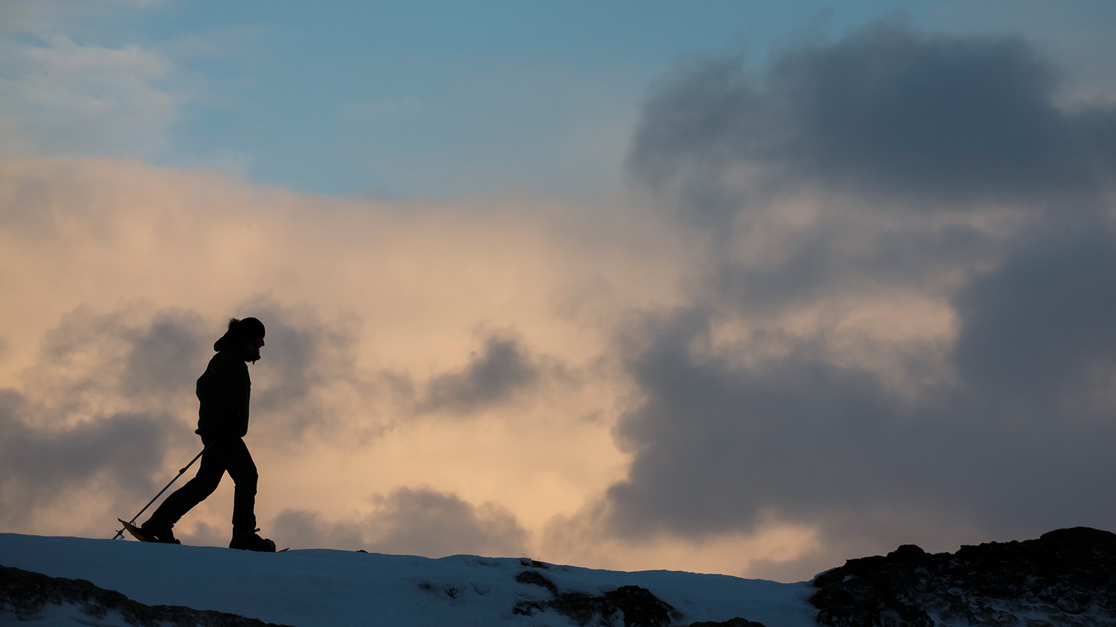 Snow Shoeing in Iceland