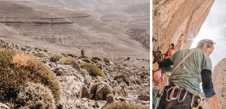 The High Atlas Mountains, Morocco - photo by Franz Walter