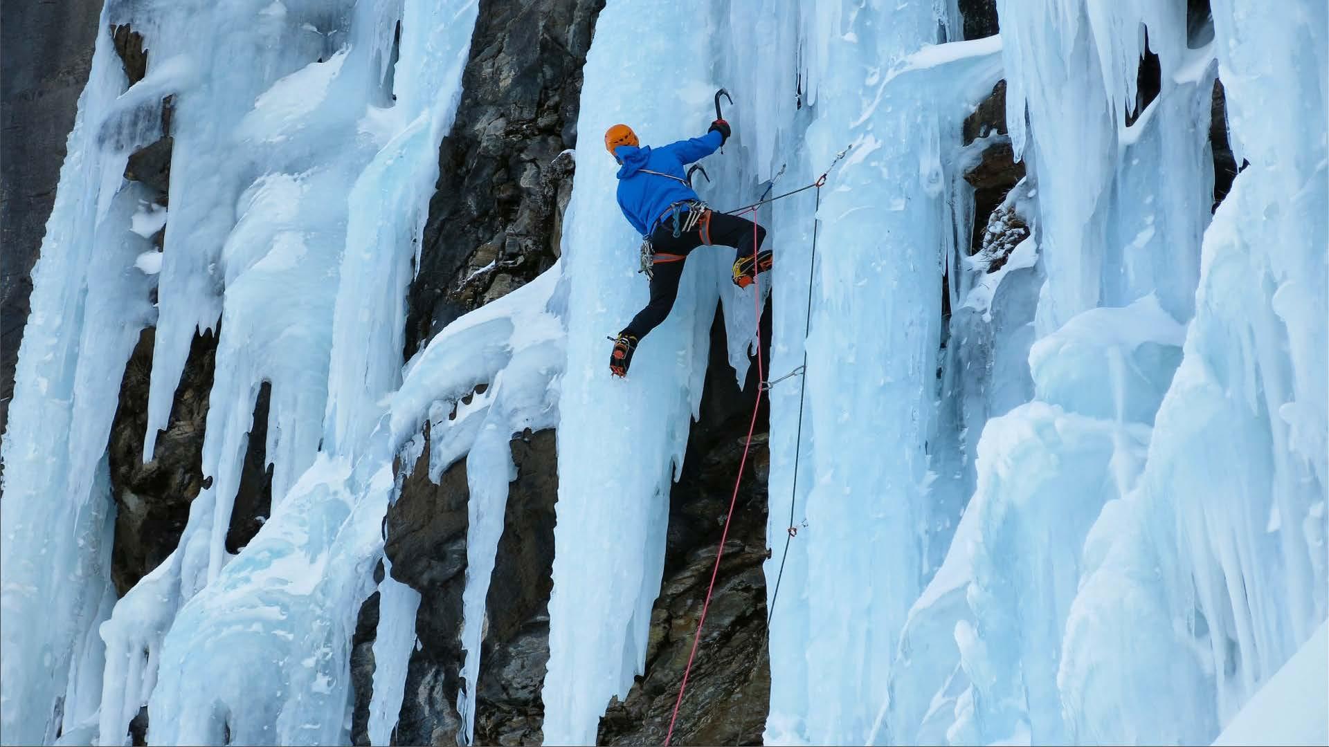 Kenton Cool Ice Climbing