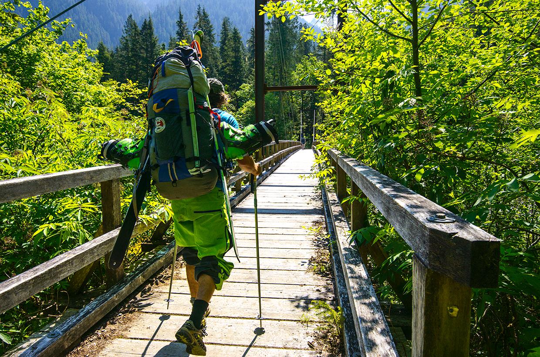 Blum to Watson Traverse, North Cascades, Washington State, USA