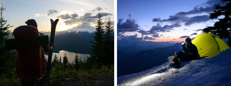 Ski Mountaineering in North Despair. Photo by Jason Hummel