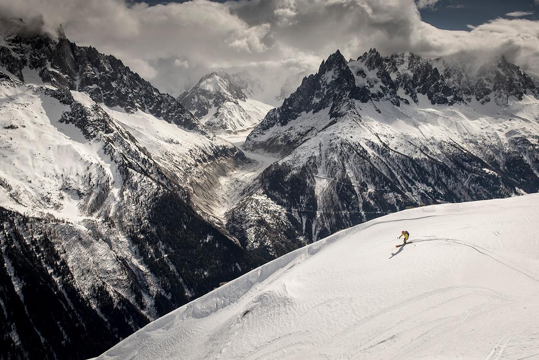 Ski Touring in Chamonix – Challenge Sophe // Photo by Daniel Wildey