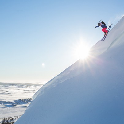 Off Piste Skiing in Jämtland Härjedalen | Photo by Mark Going