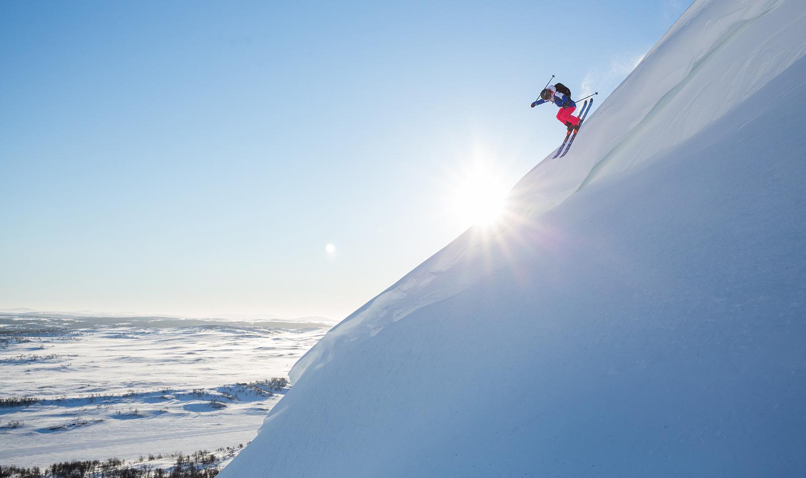 Off Piste Skiing in Jämtland Härjedalen   Photo by Mark Going