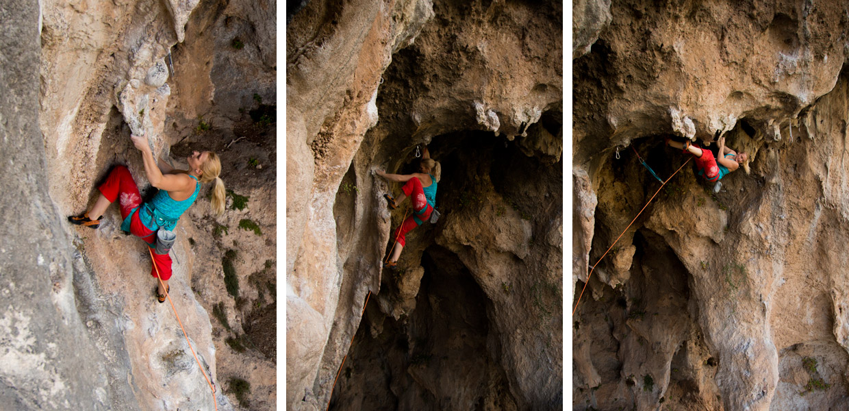 Leah Crane tackles a tough pitch in Turkey
