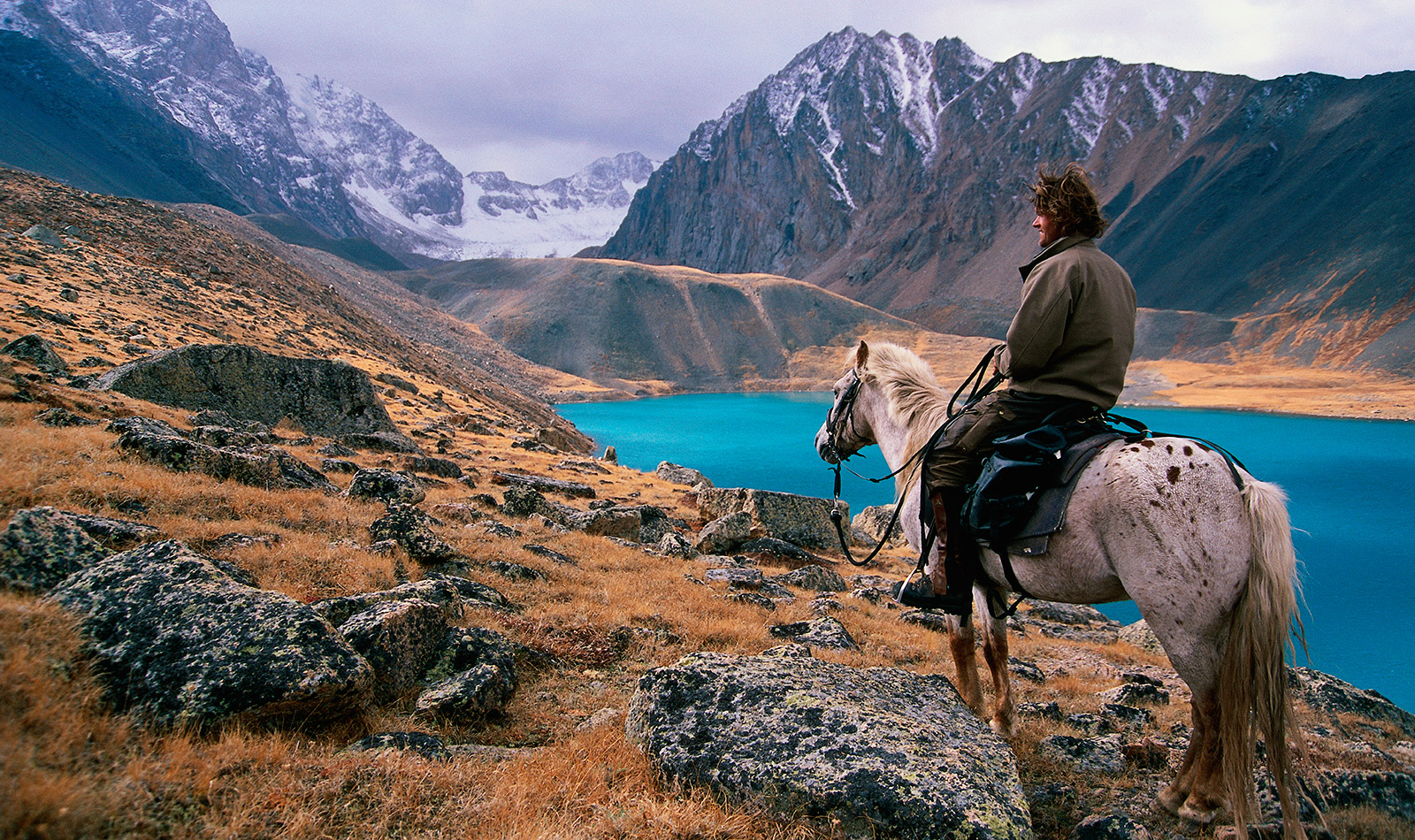 Tim Cope on the trail of Genghis Khan