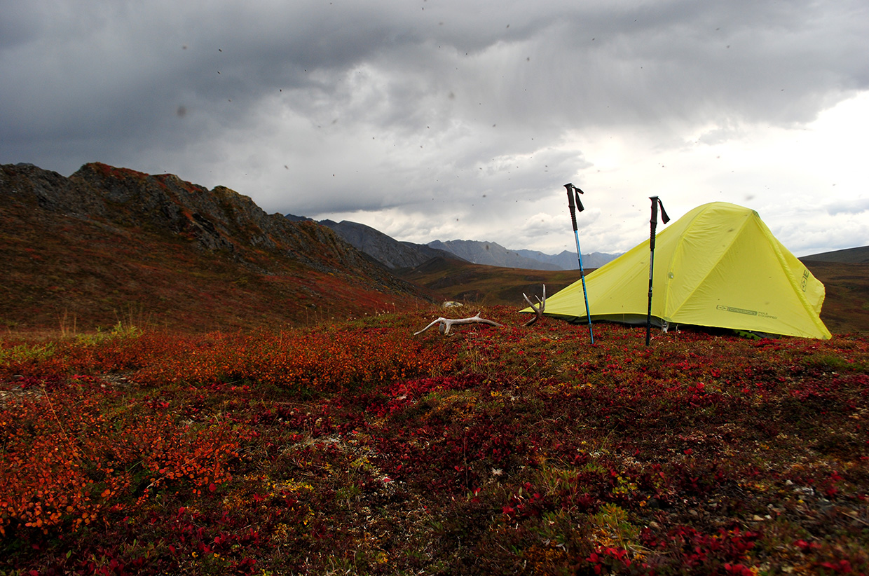 Camping in the Brooks Range. Photo by Adam Parkinson