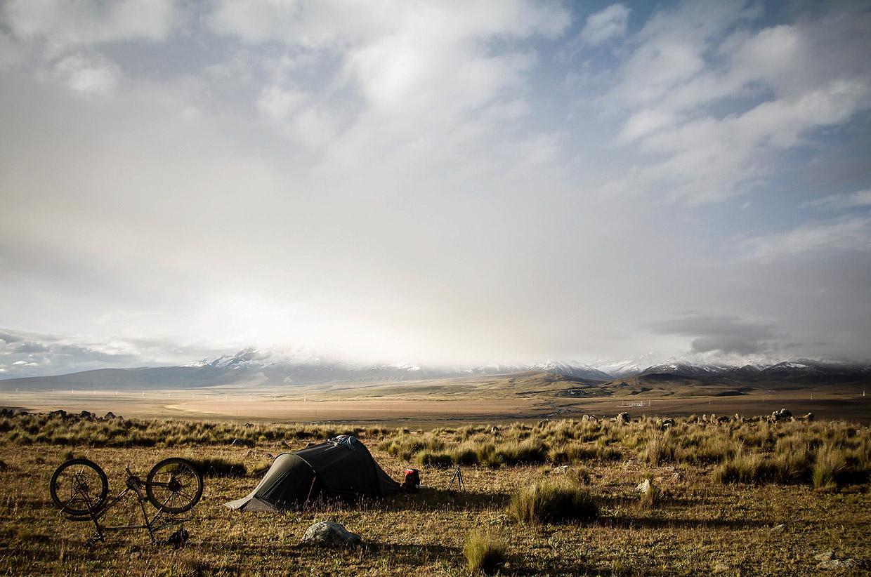 Tent-Cordillera