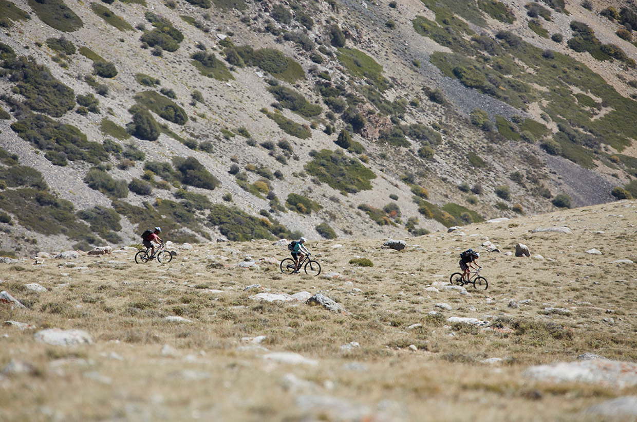 Mountain Biking the Talas Range, Kyrgyzstan – Photo: Toby Maudsley