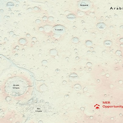 Mars Mapped by Ordnance Survey