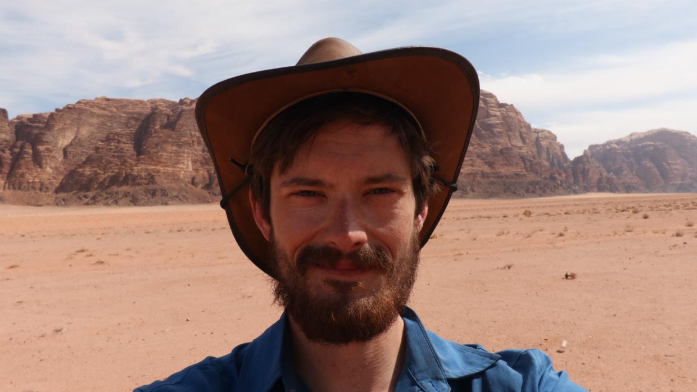 1 Desert selfie