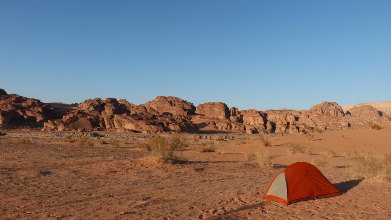 1 Tent in dunes Aheimer