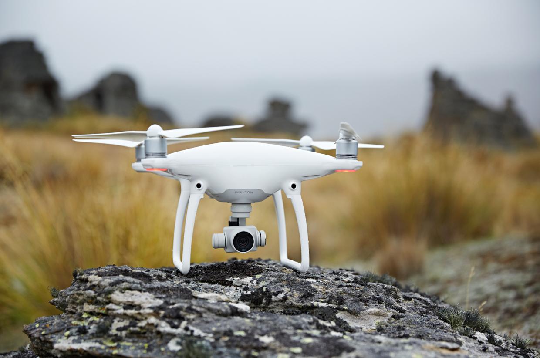 DJI launches Phantom 4 camera drone