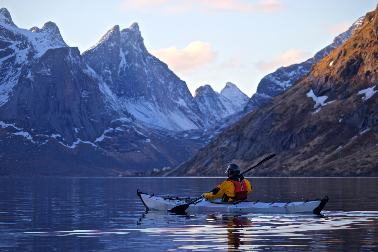 Planning an Arctic sea kayaking expedition