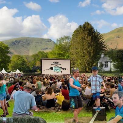Kendal Mountain Festival Outdoor Cinema Cumbria tour