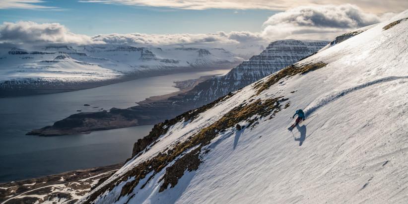 Ski Adventures Between Fire & Ice
