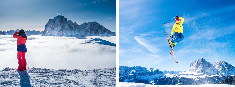 Dolomites Val Gardena: Winter Wonderland